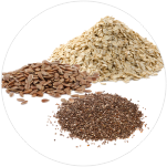 Oats-Lentils-Flax-seeds-and-chia-seeds