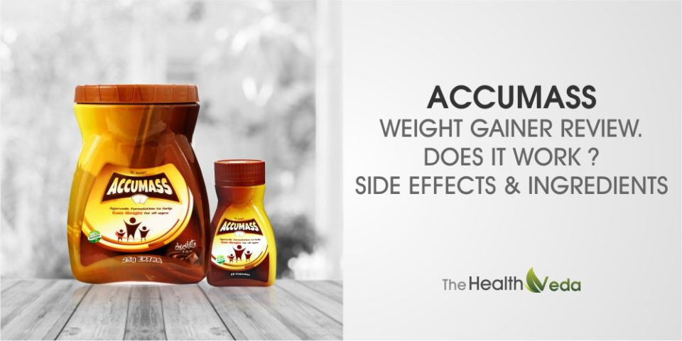 Accumass Weight Gainer Review – Does it work? Side Effects & Ingredients