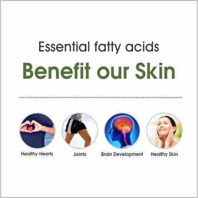How Essential fatty acids benefit our skin