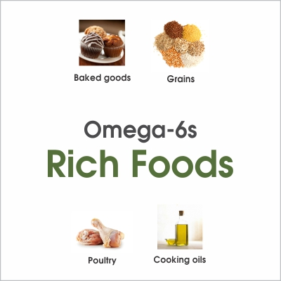 Omega-6s rich foods