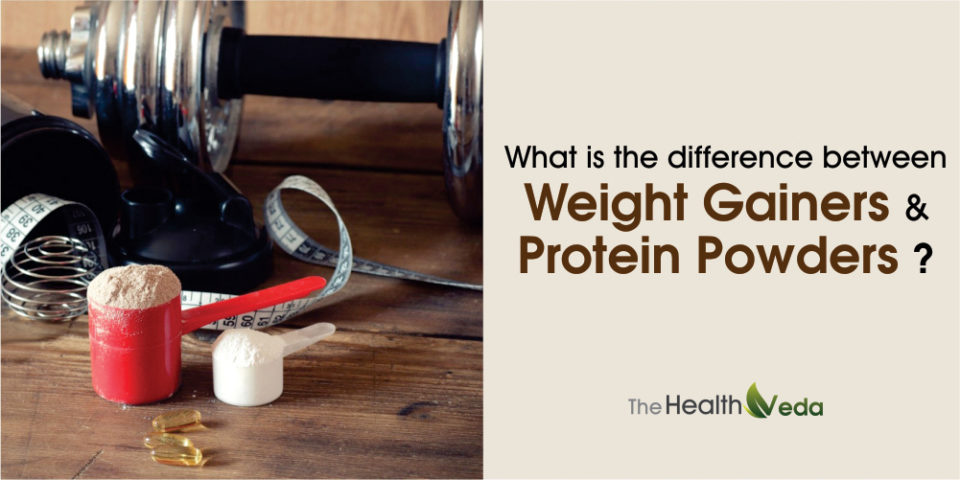 What is the difference between Weight Gainers and Protein Powders?