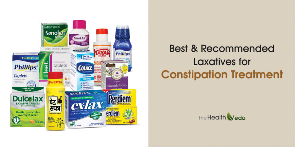 Best & Recommended Laxatives for Constipation Treatment – Top 12 Best Constipation Remedies-2017
