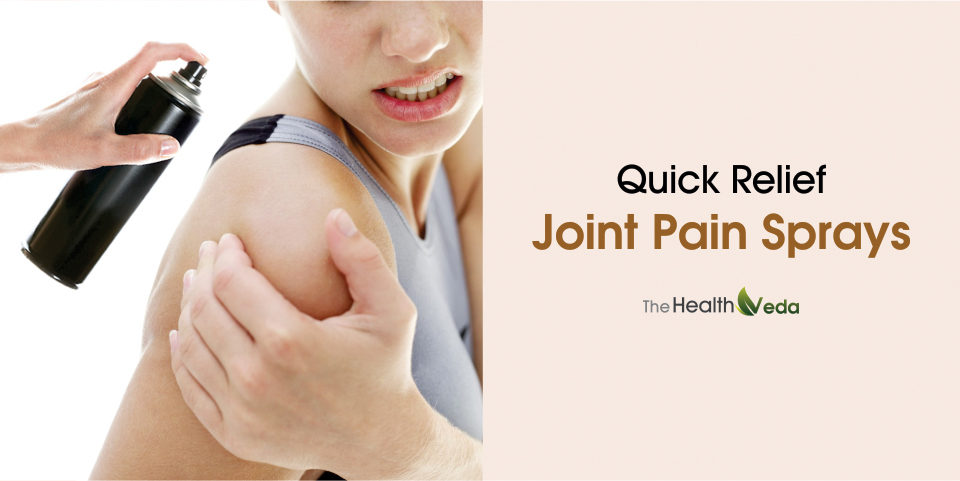 Quick relief Joint Pain Sprays