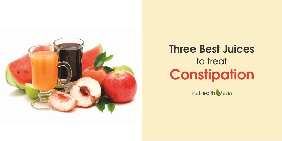 Three Best Juices to Treat Constipation