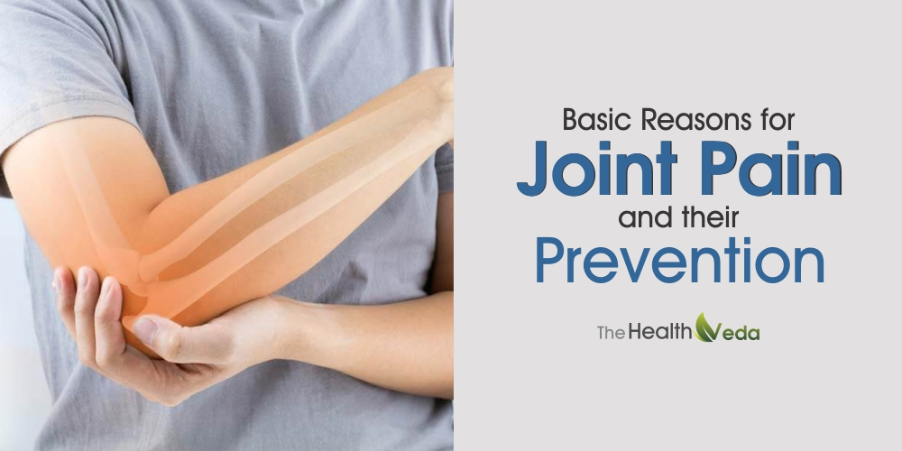 Basic Reasons for Joint Pain and Their Prevention
