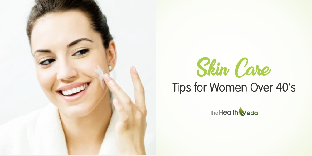 Skin-Care-Tips-for-Women-Over-40's