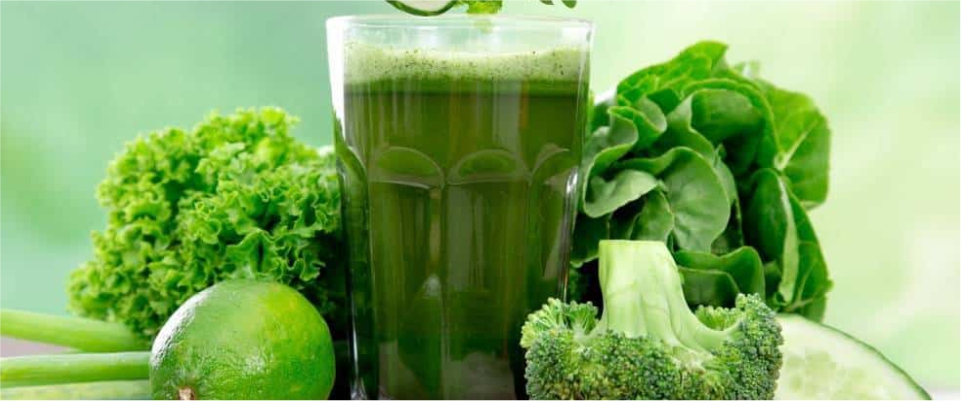 Green-vegetable-juice