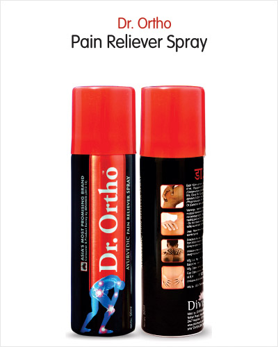 Ayurvedic Pain Relief Spray for joint pain