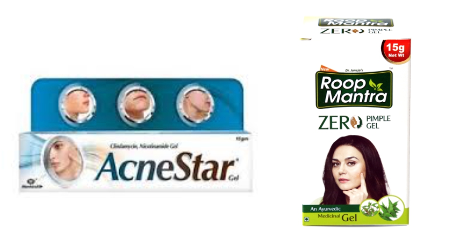 Which is more effective: Roop Mantra Zero Pimple Gel or Acne Star?