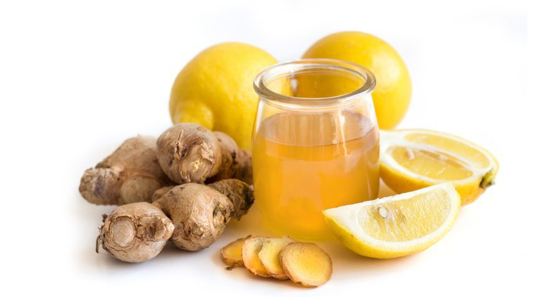 Honey-Lemon-and-Ginger-Drinks-for-Weight-Loss-and-Clear-Skin